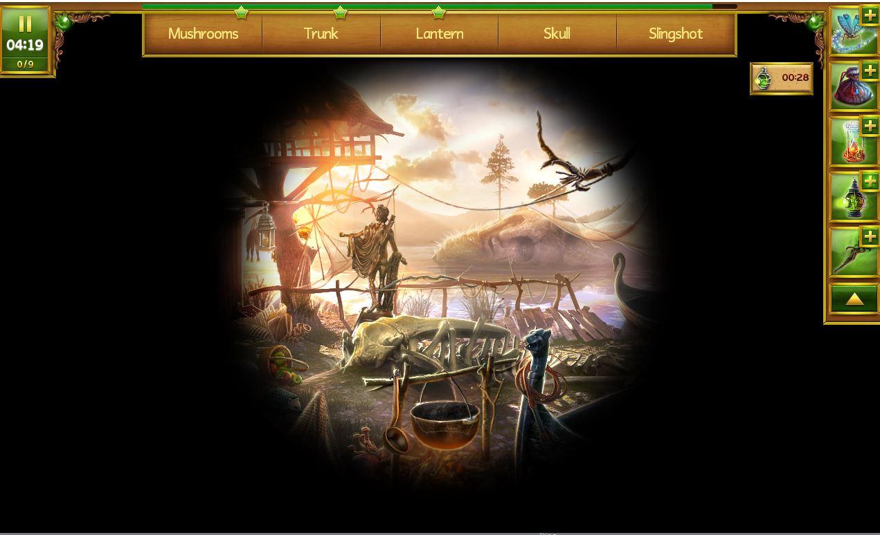 Lost Island - Eternal Storm - Night Fishing