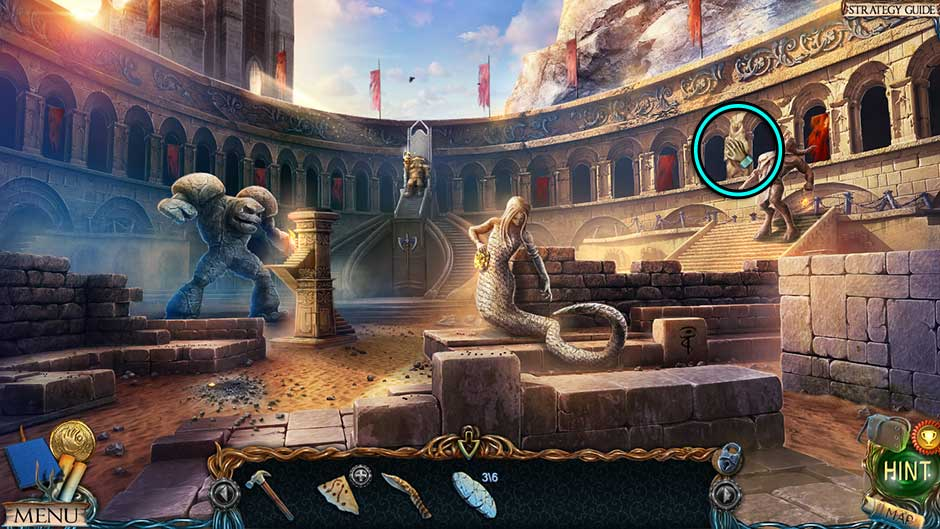 Lost Lands – The Golden Curse Arena Collectible Location