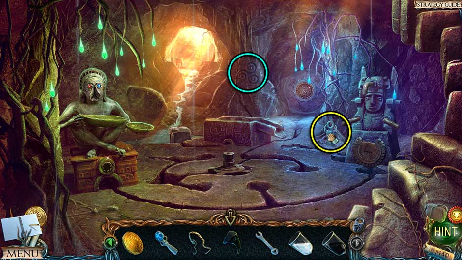 Lost Lands – The Golden Curse Cave Collectibles Locations