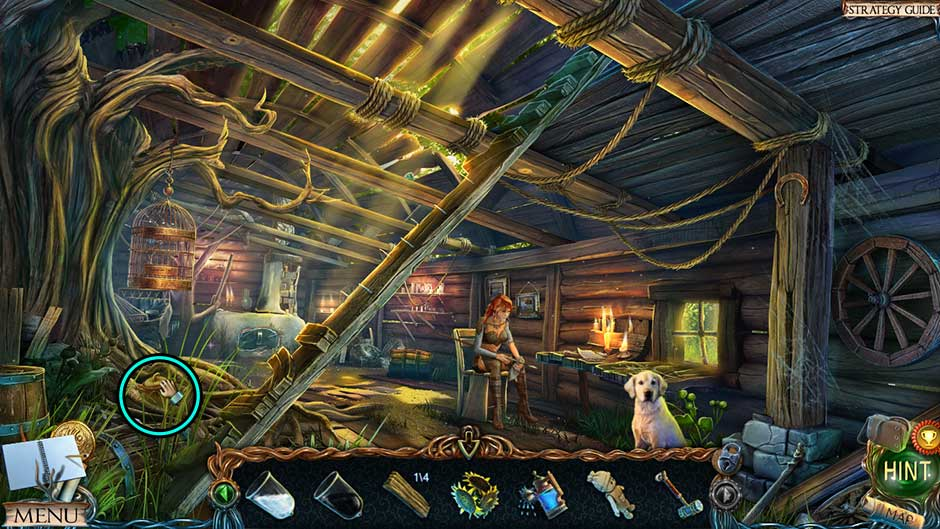 Lost Lands – The Golden Curse Fishermans Hut Collectible Location