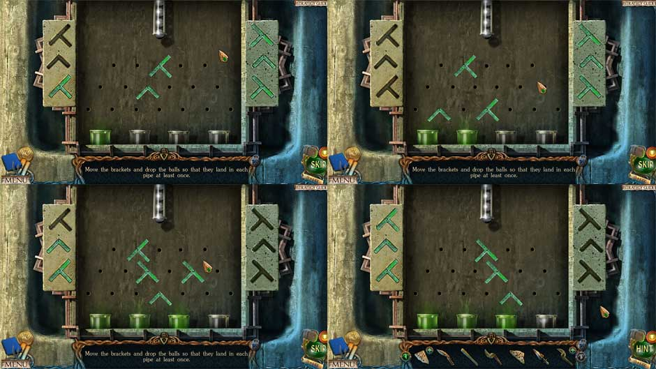 Lost Lands – The Golden Curse Fountain Bracket Puzzle Solution