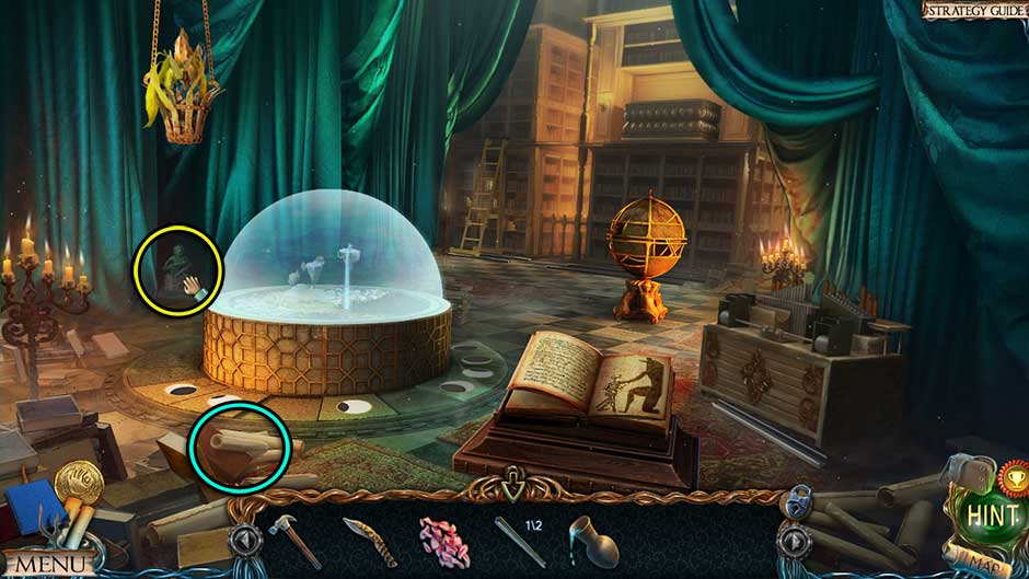 Lost Lands – The Golden Curse Great Library Collectibles Locations