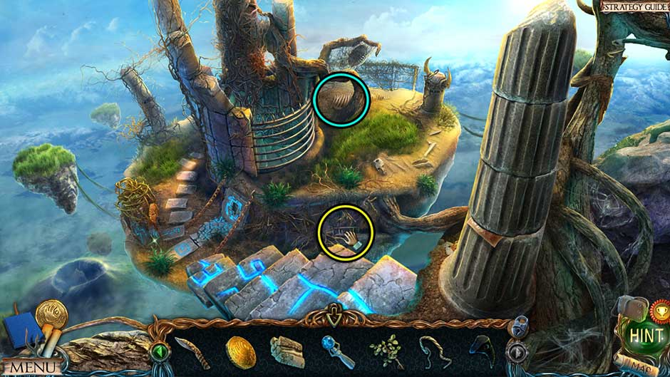 Lost Lands – The Golden Curse Harpys Nest Collectibles Locations