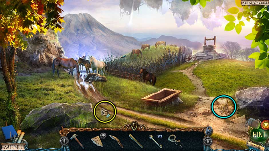 Lost Lands – The Golden Curse Hills Collectibles Locations