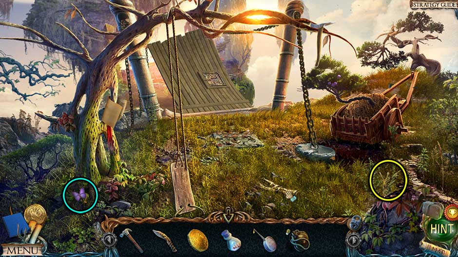 Lost Lands – The Golden Curse Lower Island Collectibles Locations