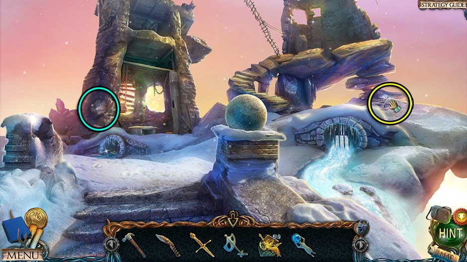 Lost Lands – The Golden Curse Ruined Temple Collectibles Locations