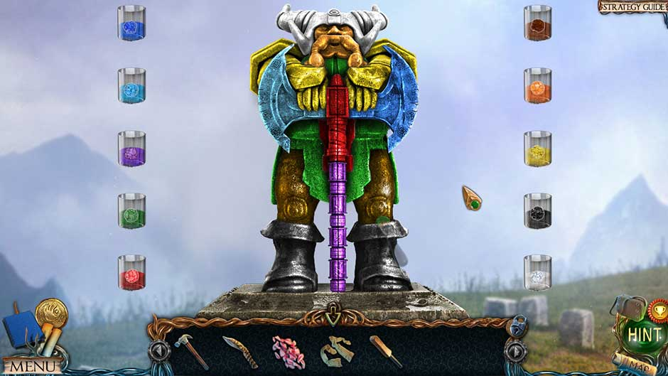 Lost Lands – The Golden Curse Statue Painting Puzzle Solution