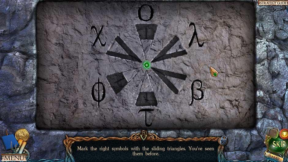 Lost Lands – The Golden Curse Stone Door Puzzle Solution Part 1