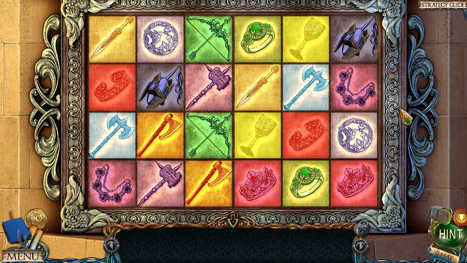 Lost Lands – The Golden Curse Tile Pairs Puzzle Solution