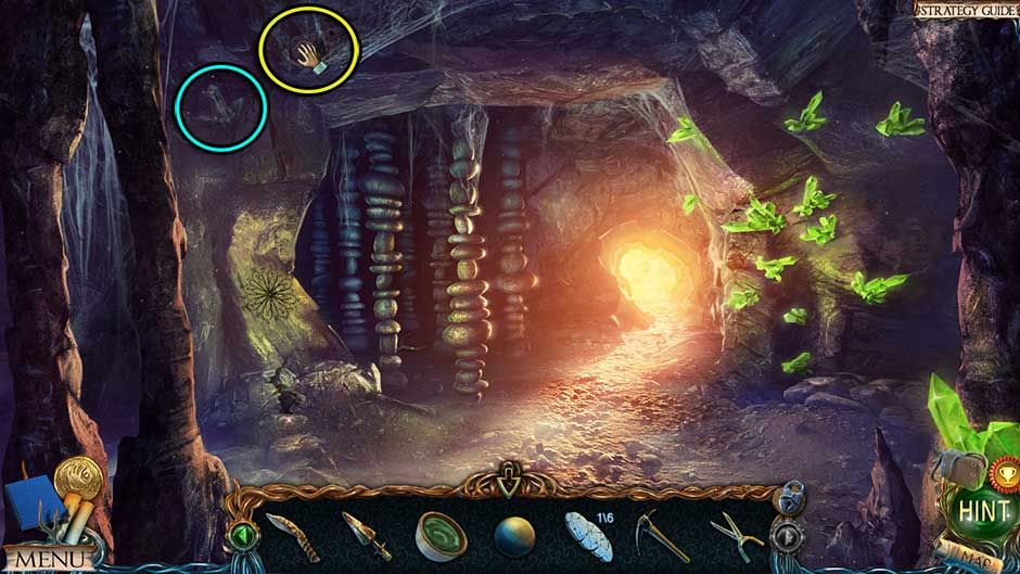 Lost Lands – The Golden Curse Volcanic Cavern Collectibles Locations
