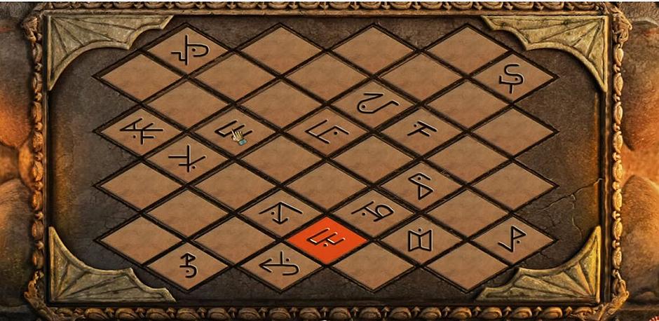 Lost Lands - The Four Horsemen - Match The Symbols