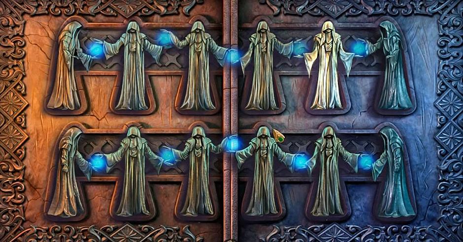 Lost Lands - The Four Horsemen - Monk Figurines