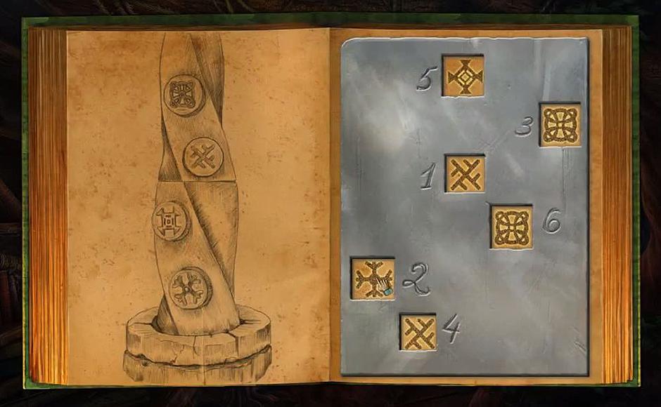 Lost Lands - The Four Horsemen - Punch Card