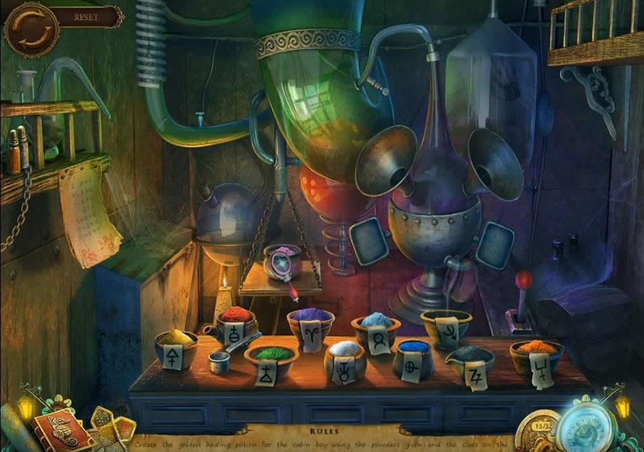 Mayan Prophecies - Ship of Spirits - Potion Puzzle