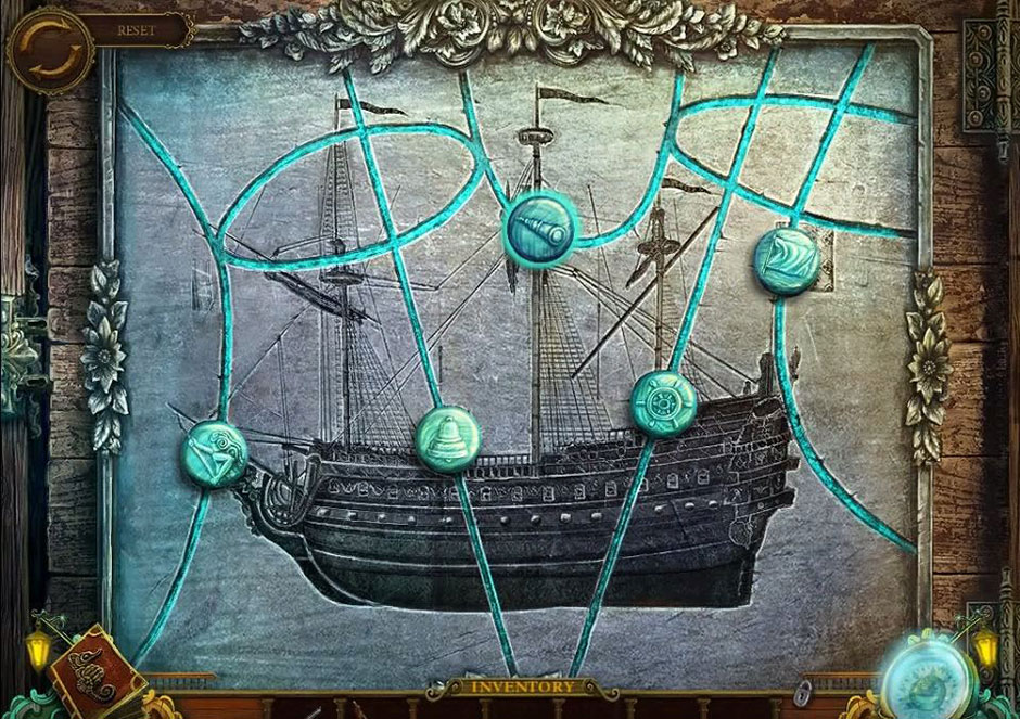 Mayan Prophecies - Ship of Spirits - Ship Puzzle