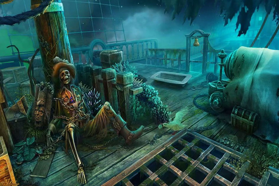 Mayan Prophecies - Ship of Spirits - Skeleton