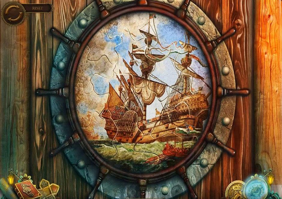 Mayan Prophecies - Ship of Spirits - Wheel Icon