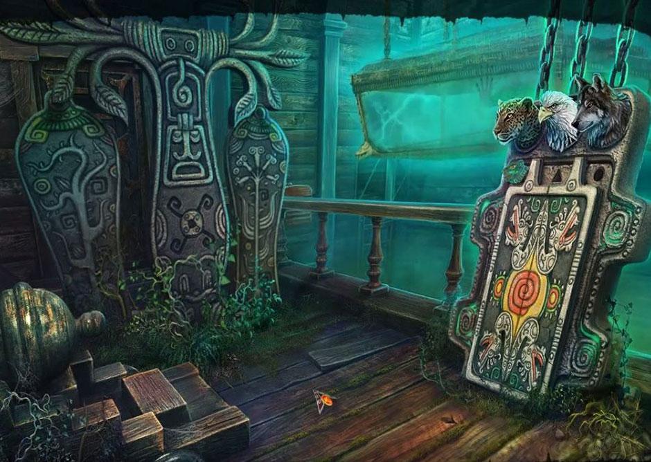 Mayan Prophecies - Ship of Spirits - Wolf Totem Key