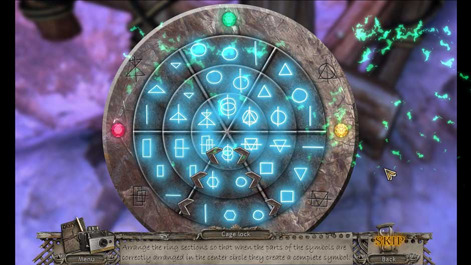 Mysteries of the Past – Shadow of the Daemon Cell Lock Puzzle Solution