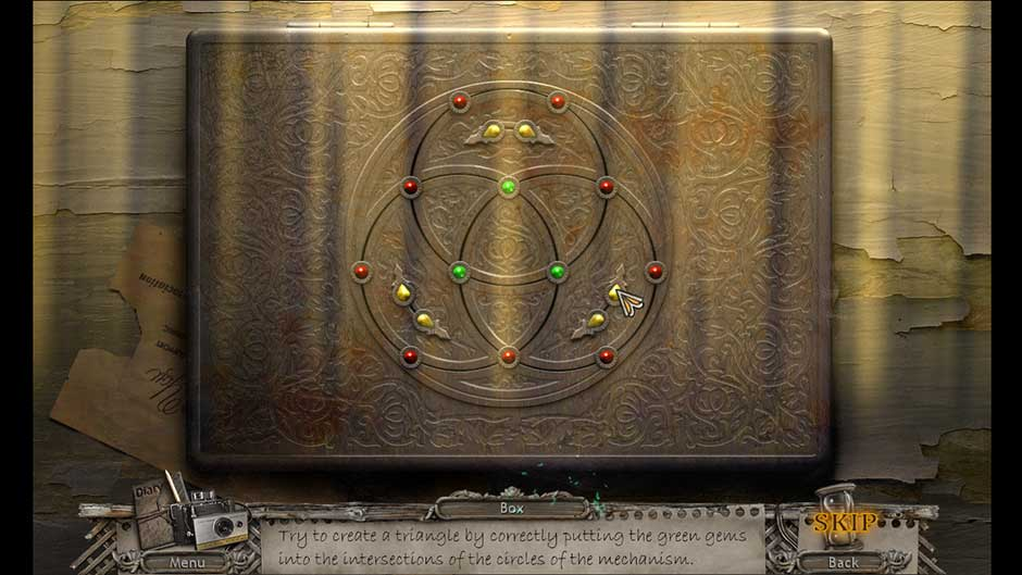 Mysteries of the Past – Shadow of the Daemon Gem Rotation Puzzle Solution
