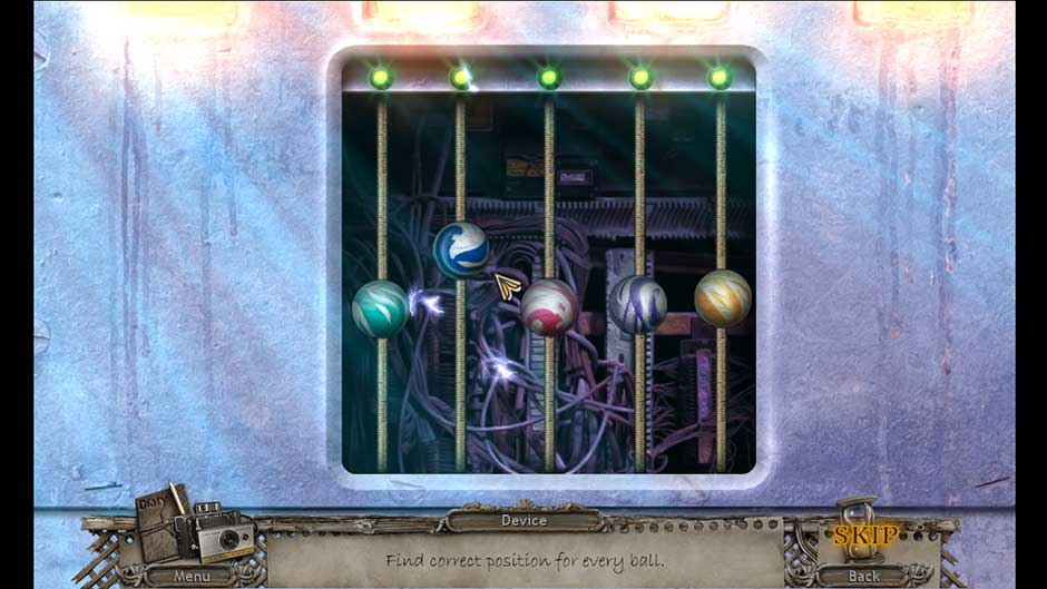 Mysteries of the Past – Shadow of the Daemon Glass Ball Puzzle Solution