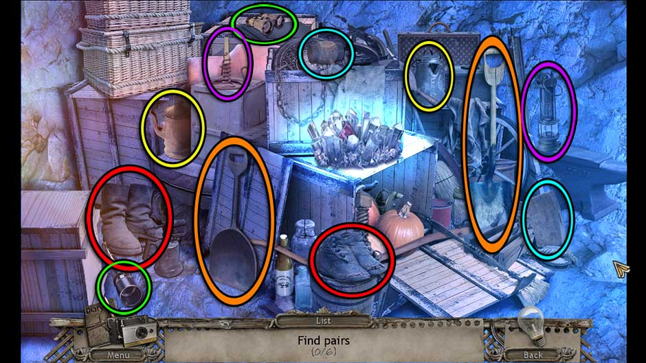 Mysteries of the Past – Shadow of the Daemon Hideout Matching Pairs Solution