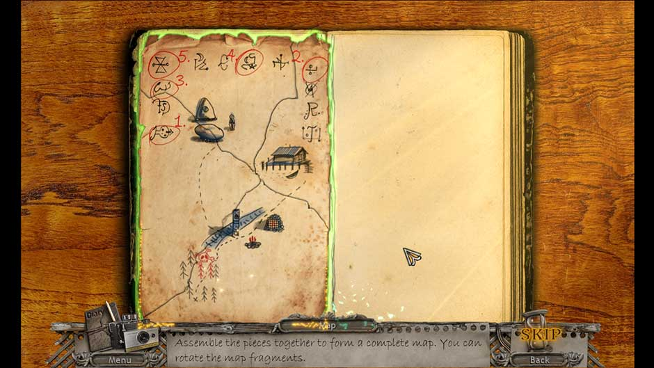 Mysteries of the Past – Shadow of the Daemon Lobby Map Fragment Puzzle