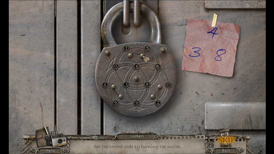Mysteries of the Past – Shadow of the Daemon Locker Code Puzzle Solution