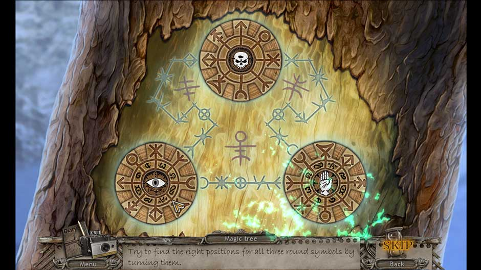 Mysteries of the Past – Shadow of the Daemon Magic Tree Symbols Solution