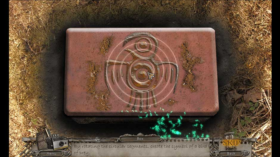 Mysteries of the Past – Shadow of the Daemon Medallion Rotation Puzzle