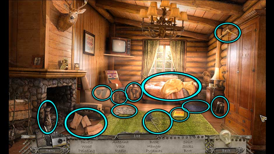 Mysteries of the Past – Shadow of the Daemon Room 11 Hidden Object Scene