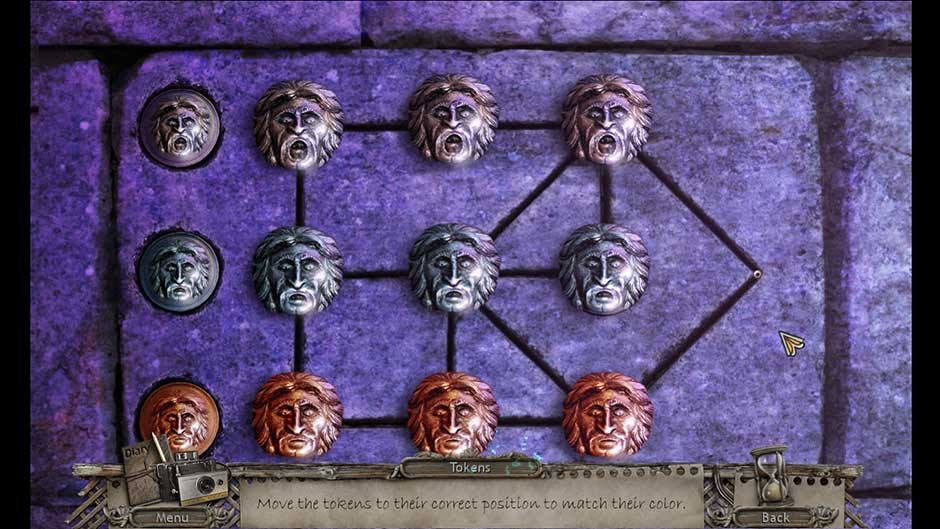Mysteries of the Past – Shadow of the Daemon Token Puzzle Solution