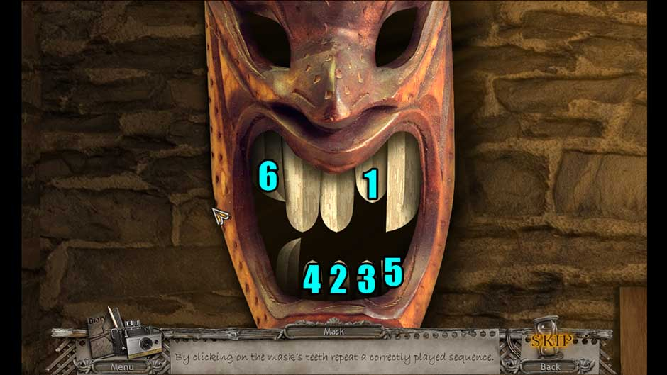 Mysteries of the Past – Shadow of the Daemon Tooth Sequence Puzzle Solution