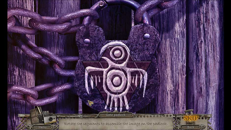 Mysteries of the Past – Shadow of the Daemon Bird Padlock Puzzle Solution