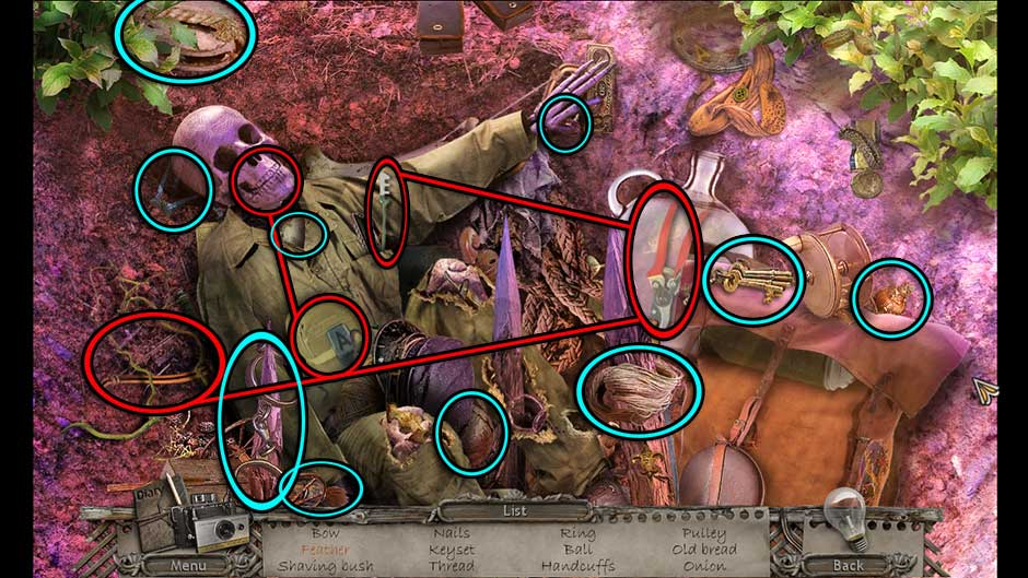 Mysteries of the Past – Shadow of the Daemon Forest Pit Hidden Object Scene