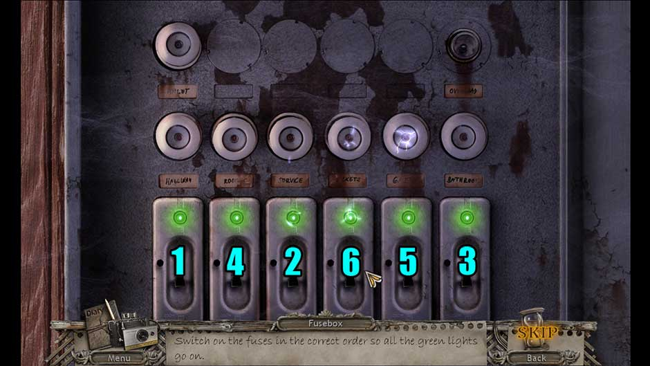 Mysteries of the Past – Shadow of the Daemon Fuse Order Puzzle Solution