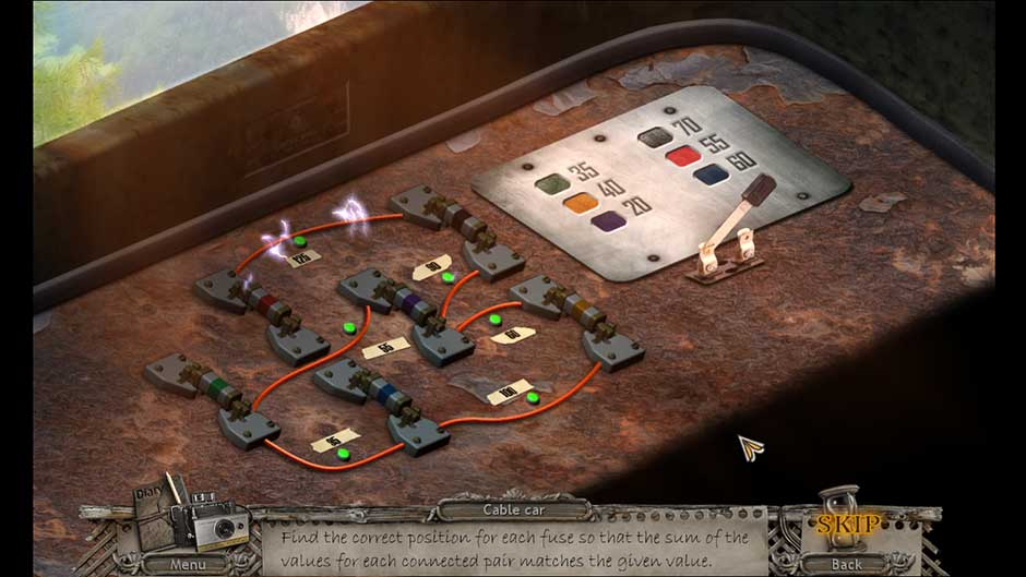 Mysteries of the Past – Shadow of the Daemon Fuse Value Puzzle Solution