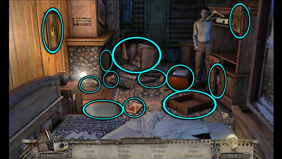 Mysteries of the Past – Shadow of the Daemon Room 13 Hidden Object Scene