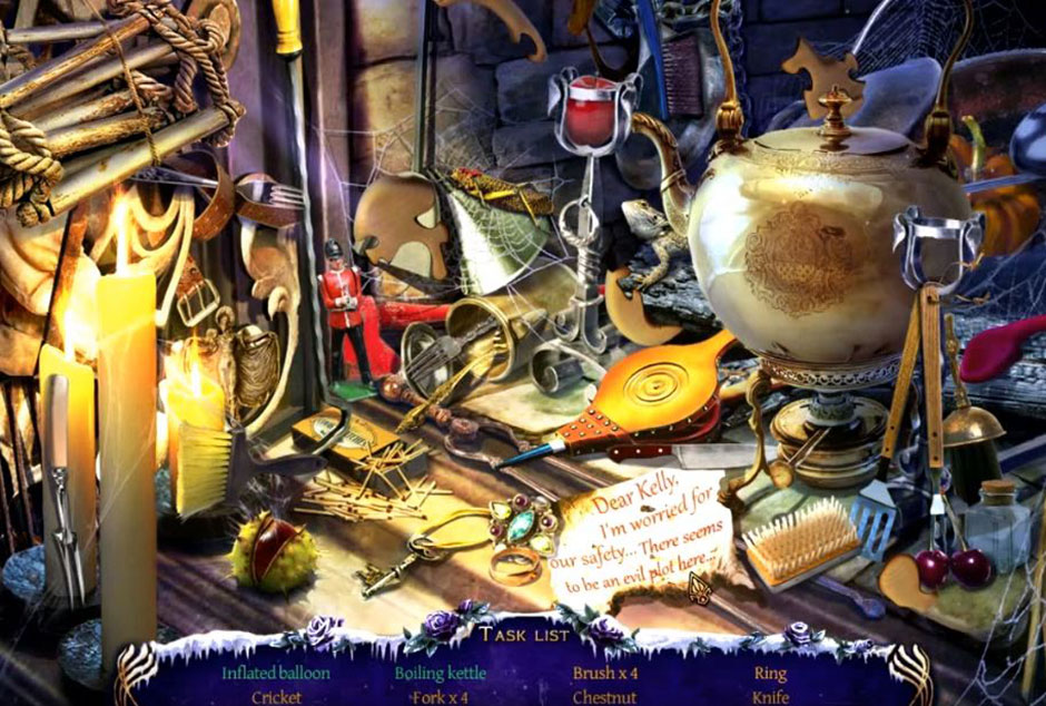 Mystery Trackers - Four Aces - Hidden Object Chapter 3
