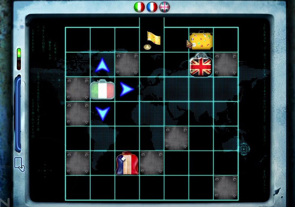 Mystery Trackers - Four Aces - Mini Game Baggage Scanner