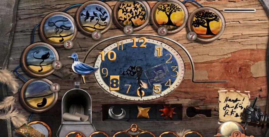 Nightmare Realm - In the End - Clock Mini Game