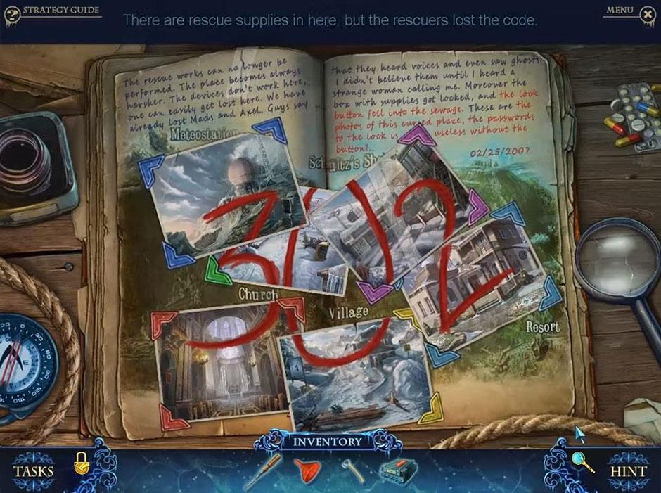 Phantasmat - Crucible Peak - Scrapbook