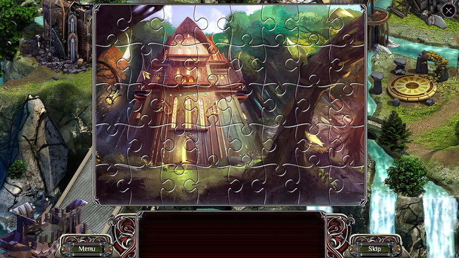 The Far Kingdoms - Sacred Grove Solitaire Puzzle