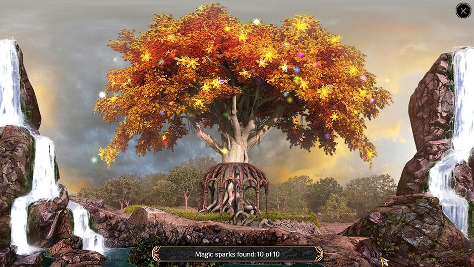 The Far Kingdoms - Sacred Grove Solitaire Sacred Tree