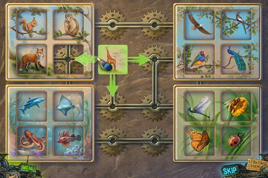 Twilight Phenomena - The Lodgers of House 13 - Animals Puzzle Solution