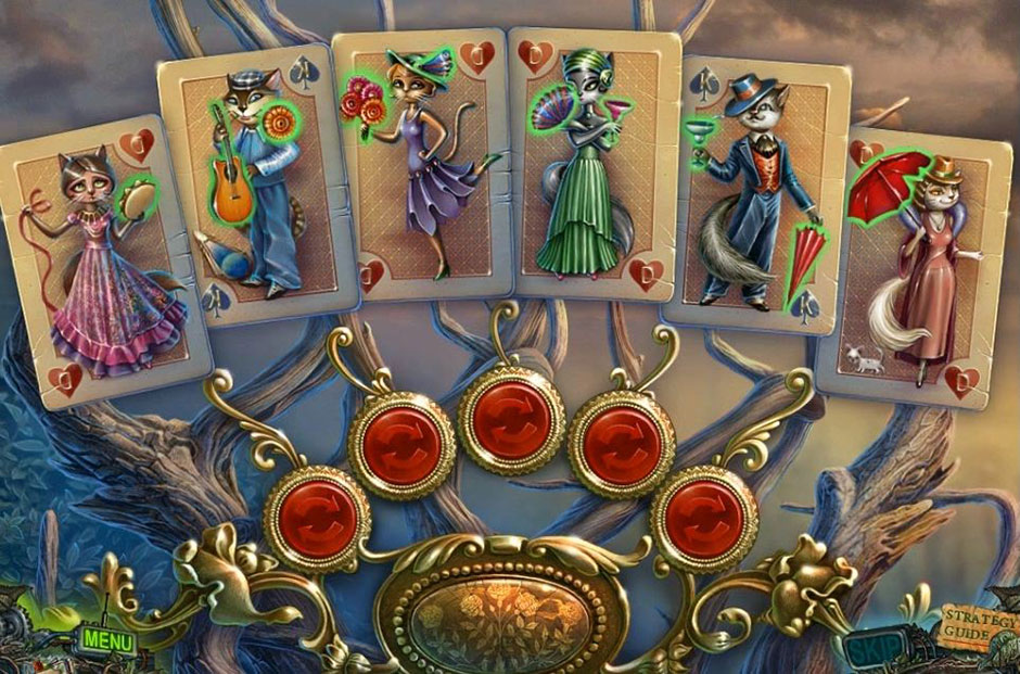 Twilight Phenomena - The Lodgers of House 13 - Cards Puzzle Solution