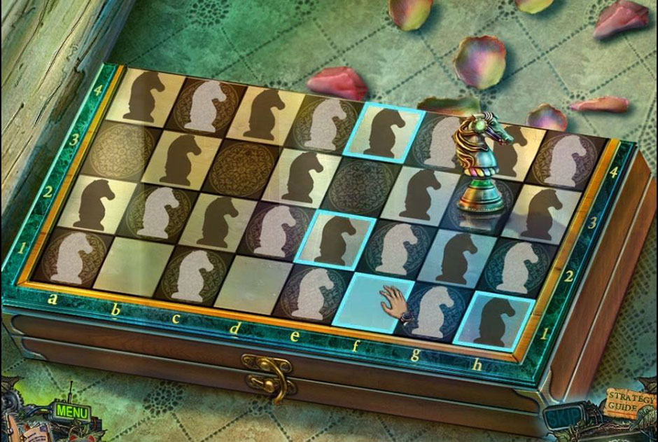 Twilight Phenomena - The Lodgers of House 13 - Chessboard Puzzle