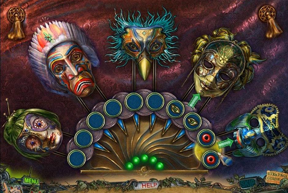 Twilight Phenomena - The Lodgers of House 13 - Masks Solution