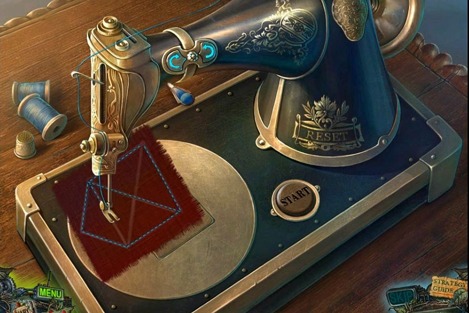 Twilight Phenomena - The Lodgers of House 13 - Sewing Machine Solution