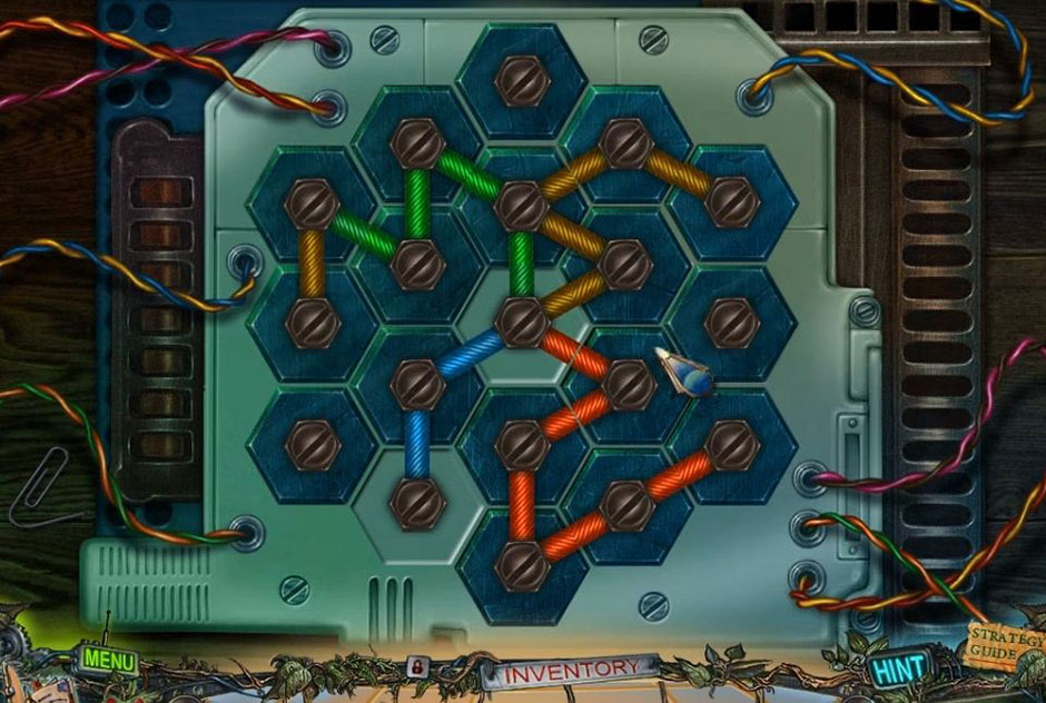 Twilight Phenomena - The Lodgers of House 13 - Wires Puzzle Solution